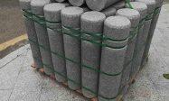 芝麻灰石材柱